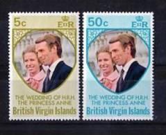 British Virgin Islands 1973 Yvert 258-59 ** MNH. - Iles Vièrges Britanniques