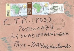 Togo 2004 Sokode TRI1 Peace Dove Pigeon 100f 400f Cover - Togo (1960-...)