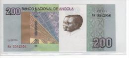 Novedad Nota 200 Kwanzas 2012 Angola Neuf Puede Salir Qualquer Moment - Angola