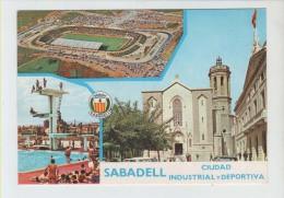 "ESTADIO - STADIUM - STADE - STADIO - STADION "" LA CREU ALTA "" .- SABADELL (  CATALUÑA ) - Fútbol"
