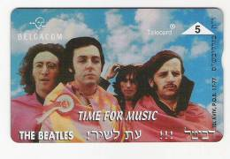 Telecarte The Beatles Neuve Tirage 1000 EX Rare ! - Musique