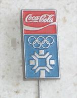 WINTER OLYMPIC GAMES 1984. * COCA-COLA Pin * Badge Jeux Olympiques Juegos Jogos Olímpicos Olympiade Olimpiadi Olympia - Coca-Cola