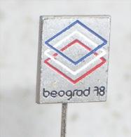 BOXING WORLD CHAMPIONSHIPS 1978. ( Yugoslavian Pin ) Badge Boxing Boxe Boxeo Boxen Pugilato Anstecknadel Distintivo - Boxing