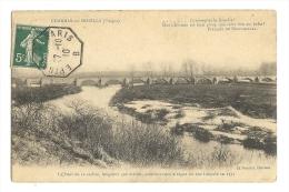 Cp, 88, Charmes-sur-Moselle, Le Pont De 12 Arches, Voyagée 1910 - Charmes