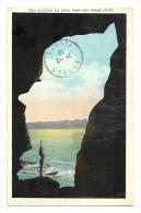 Cp, Etats-Unis, Near San Diego, La Jolia, A Cave, Voyagée 1930 - San Diego
