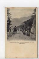 Chasseurs Alpins Du 22e Bataillon Construisant Une Route En Maurienne - Très Bon état - Altri Comuni