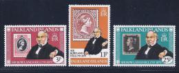 Falkland Islands, Scott # 291-3 MNH Set Rowland Hill, 1979 - Falkland Islands
