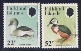 Falkland Islands, Scott # 409-10 Used Birds, 1984 - Falkland Islands