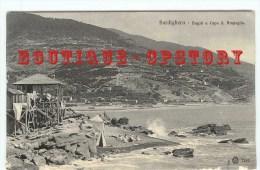 ITALIA - BORDIGHERA - Bagni A Capo S. Ampeglio - Imperia Italie - Dos Scanné - Imperia