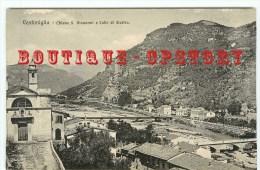 ITALIA - VENTIMIGLIA - Chiesa S. Giovanni E Colle Di Siestra - Imperia Italie - Dos Scanné - Imperia