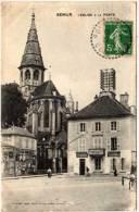 SEMUR - L' Eglise Et La Poste     (59051) - Semur