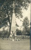 Carte Photo - Monument 14-18 à THULIN (Inauguration Ou Préparation Cérémonie ?) - Hensies