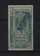 TIMBRES FISCAUX / SOCIO POSTAUX / ALSACE LORRAINE N°14 - Revenue Stamps