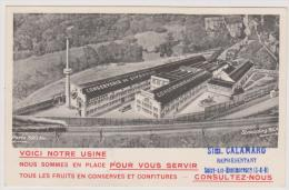 Liverdun - Carte Commerciale - Conserverie De Liverdun - Vue Aérienne - Liverdun