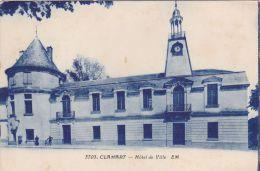 Cp , 92 , CLAMART , Hôtel De Ville - Clamart