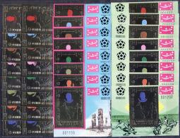 JEMEN - YEMEN - KING. - MEXICO  - Mi.989-996+IMPERF+Bl.193-200+193A-200A - FOOTBALL - SOCCER -  **MNH  -  1970 - RARE - World Cup