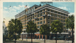 ( CPA ÉTATS UNIS )  TAMPA  /  FLORIDE  /  Hillsboro Hôtel  - - Tampa