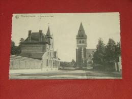 LEOPOLDSBURG - BOURG-LEOPOLD   -  De Kerk En De Post - L´ Eglise Et La Poste -  1922 - Leopoldsburg