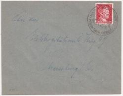 P872 - MASMUNSTER - MASEVAUX Haut Rhin - 1943 - Cachet Touristique - Type Hitler - - Postmark Collection (Covers)