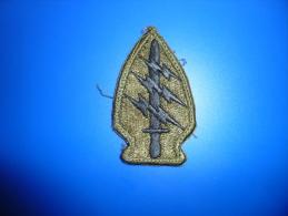 Insigne D Epaule Des Forces Speciales Americaine - Ecussons Tissu
