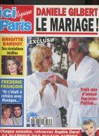 Ici Paris 2596 Daniele Gilbert Belmondo Lady Di Bardot Frederic François Marlène Valmorel Darras David Charvet - People