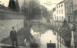 FOSSES LA VILLE - LA BIESME ET LA RUE DES REMPARTS - 1913 - Fosses-la-Ville