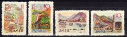 North Korea Mountains And Waterfalls 1963 Mnh - Géologie