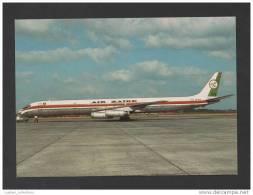 POSTCARD AIRPLANE AIRCRAFT DOUGLAS DC-8 AVIONS PLANES AIR ZAIRE ZAÏRE AFRICA - 1946-....: Moderne