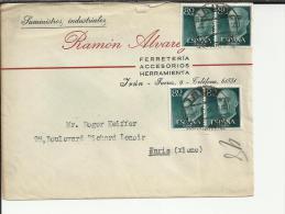 IRUN CC SELLOS BASICA FRANCO 80 CTS X 4 - 1931-Aujourd'hui: II. République - ....Juan Carlos I