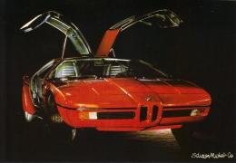BMW M1  -  Edition Michel   -  Carte Postale - Voitures De Tourisme