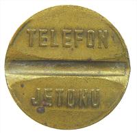 TURCHIA TURKEY TELEPHON TOKEN 26 Mm. - Gettoni E Medaglie