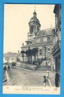 CP, 76, BOLBEC, L'Eglise Saint-Michel Vue De La Rue Thiers, Ecrite - Bolbec