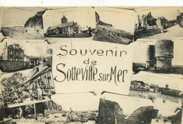 CPA (      76 )SOTTEVILLE SUR MER  Souvenir - France