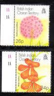 British Indian Ocean Territory BIOT 2001 Plants MNH - British Indian Ocean Territory (BIOT)
