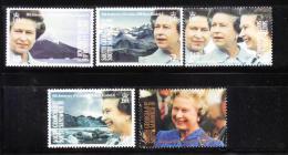 South Georgia 1992 QE II´s Accession To The Throne MNH - Georgias Del Sur (Islas)
