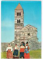 C2938 Codrongianus (Sassari) - Basilica Di Saccargia - Folklore Sardo / Viaggiata 1963 - Italia