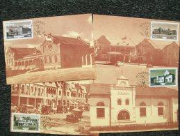 4 Postcards  WINDHOEK 1985 - Namibia