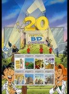 Luxembourg 2013 - Special Sheet Comic Festival Mnh - Fumetti