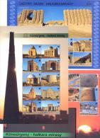 2013. Turkmenistan, Monuments Of Architecture, UNESCO, 3 S/s, Mint/** - UNESCO