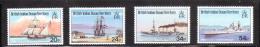 British Indian Ocean Territory BIOT 1991 Visiting Ships MNH - Britisches Territorium Im Indischen Ozean