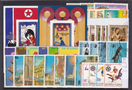 Thematic Stamps, Sets/blocks In Stock Card 81 - Timbres