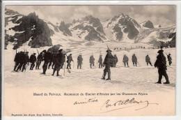 CHASSEURS ALPINS  ASCENSION DU COL D'ARSINE - Francia