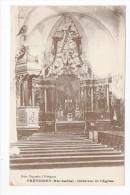 CPA 70 FRETIGNEY Intérieur De L'Eglise 1917 - Altri Comuni