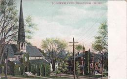 Connecticut Morwalk Congregational Church - Norwalk