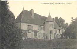 Creuse- Château Des Portes, Près Mainsat. - France