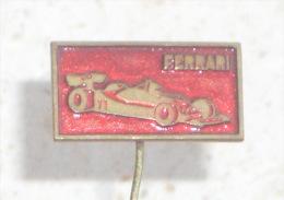 FERRARI - Formula 1 ( Croatian Rare Pin ) * F1 Badge Car Automobile Auto Autos Anstecknadel Distintivo Italy Italia - Ferrari