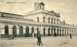Tienen / Tirlemont - La Gare - Geanimeerd -19?? ( Verso Zien ) - Tienen