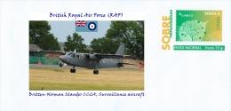 SPAIN, 2013 British Royal Air Force (RAF), Britten-Norman Islander CC2A, Surveillance Aircraft Planes Flugzeug - Aerei