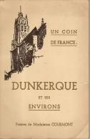 DUNKERQUE ET SES ENVIRONS -POESIES DE MADELEINE COURMONT-signature De L'auteure - Auteurs Français