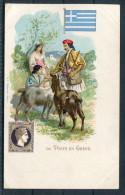 La Poste En Grece - Greece Stamp, Flag & Postman - Postal Services